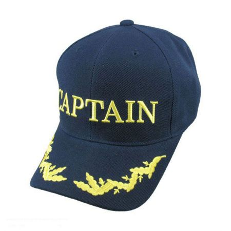 Village Hat Shop CAPTAIN Snapback Baseball Cap
