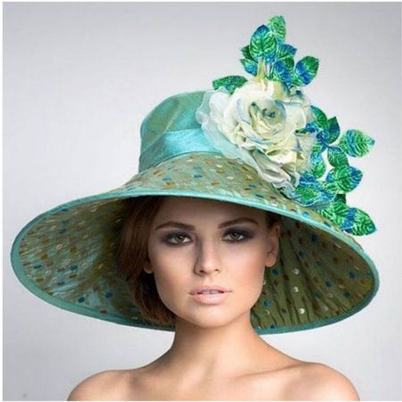 Arturo Rios Collection Cassandra Widebrim Hat