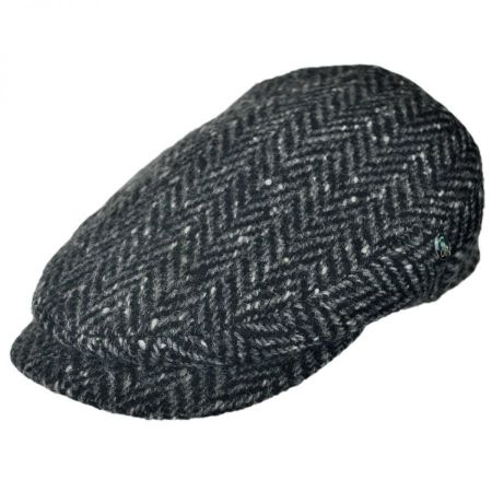 City Sport Caps Donegal Tweed Large Herringbone Ivy Cap