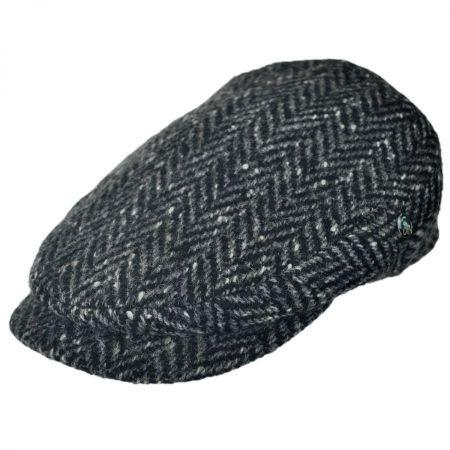 City Sport Caps Donegal Tweed Large Herringbone Ivy Cap