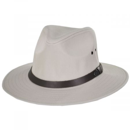 Dalton Cotton Blend Rain Fedora Hat alternate view 3