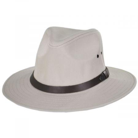 Dalton Cotton Blend Rain Fedora Hat alternate view 17