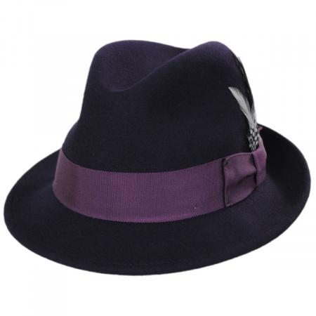 Tino Wool Felt Trilby Fedora Hat alternate view 14