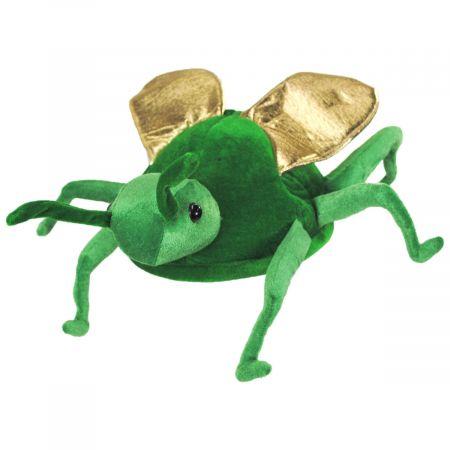 Grasshopper Velvet Hat