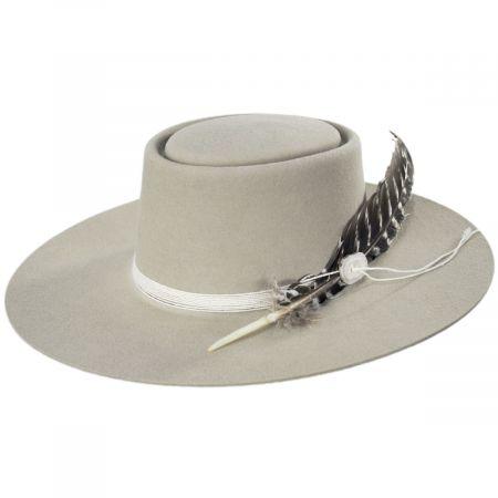 Stetson Batterson Wool Felt Gambler Hat