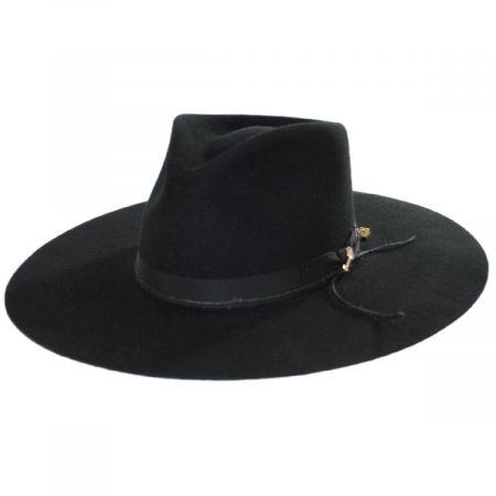 JW Marshall Wool Felt Western Hat