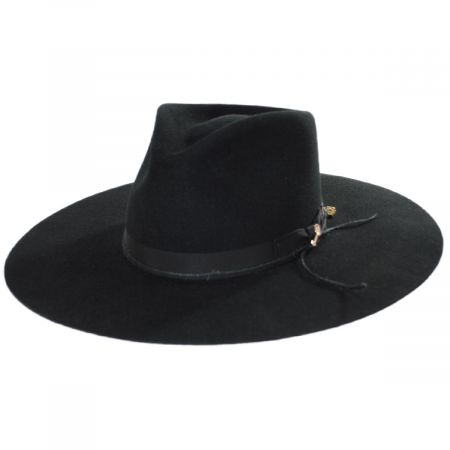 JW Marshall Wool Felt Western Hat alternate view 9