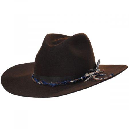 Gage Fur Felt Crossover Hat
