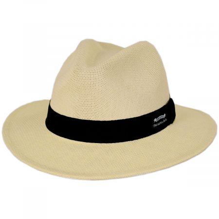 Kingfin Toyo Straw Safari Fedora Hat alternate view 13