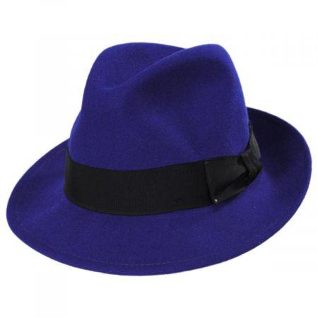 Blixen Lapis Wool Litefelt Fedora Hat