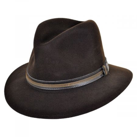 Brandt Lanolux Wool Felt Fedora Hat alternate view 19