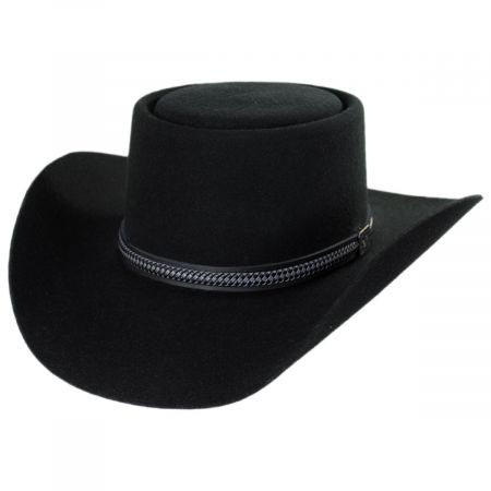 John Wayne Chinook Wool Felt Gambler Hat