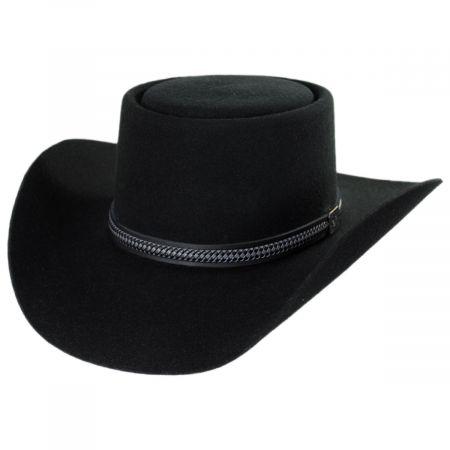 Stetson John Wayne Chinook Wool Felt Gambler Hat