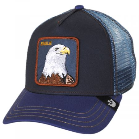 Goorin Bros Flying Eagle Mesh Trucker Snapback Baseball Cap