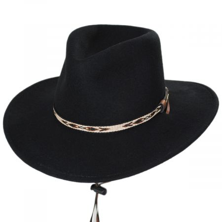 Ashley Crushable Wool Felt Earflap Aussie Hat