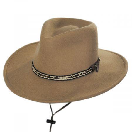 Stetson Ashley Crushable Wool Felt Earflap Aussie Hat