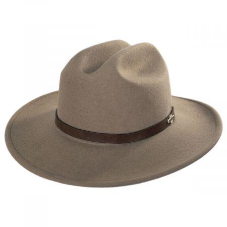 Route 66 Crushable Wool Felt Cattleman Western Hat