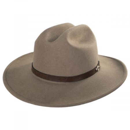 Route 66 Crushable Wool Felt Cattleman Western Hat alternate view 13