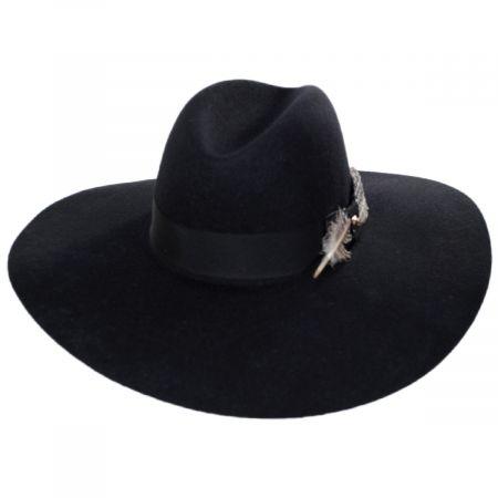 Rapture Wool Felt Fedora Hat