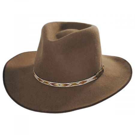 Westview Crushable Wool Felt Outback Hat