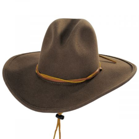 Makinnon Crushable Wool Felt Western Hat