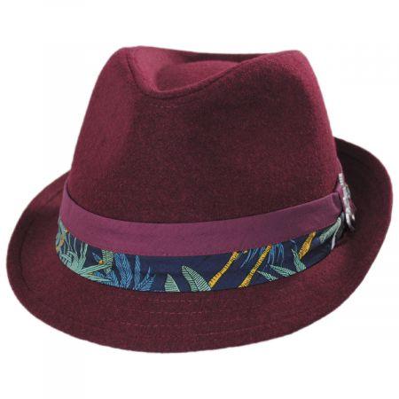 Carlos Santana Selba Wool Blend Fedora Hat