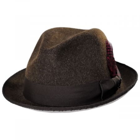 Stacy Adams Colony Two Tone ProvatoKnit Fedora Hat