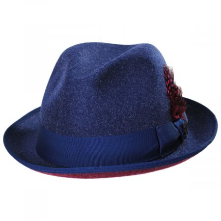 Colony Two Tone ProvatoKnit Fedora Hat alternate view 13