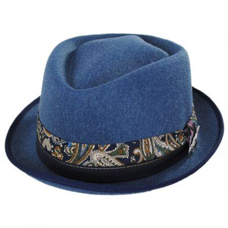 Carlos Santana Cast ProvatoKnit Crushable Fedora Hat