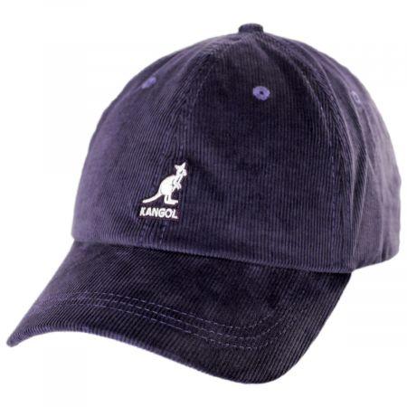Logo Corduroy Strapback Baseball Cap Dad Hat alternate view 5