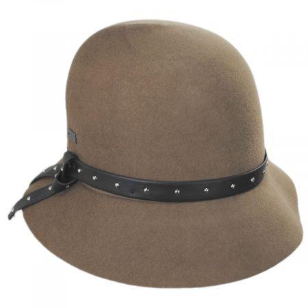Vanessa Wool Felt Cloche Hat