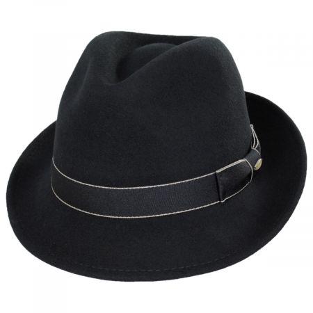 Scala Tasmania Wool Felt Fedora Hat