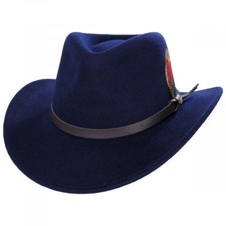 Scala Dakota Wool Crushable Outback Hat