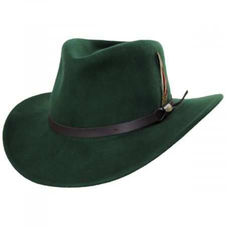 Dakota Wool Crushable Outback Hat alternate view 5