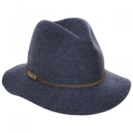 Mystery Wool Felt Safari Fedora Hat