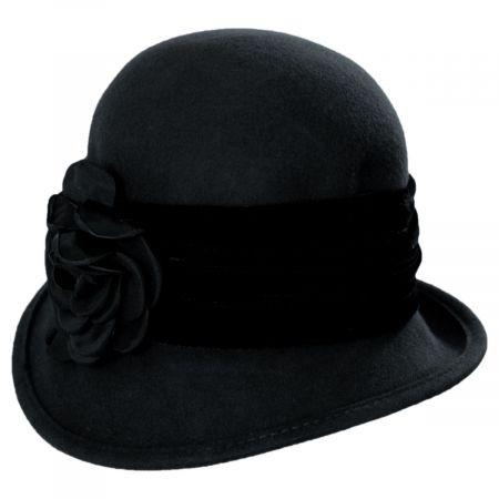 Pietro Wool Felt Cloche Hat
