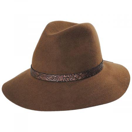 Scala Red Hook Wool Felt Safari Fedora Hat
