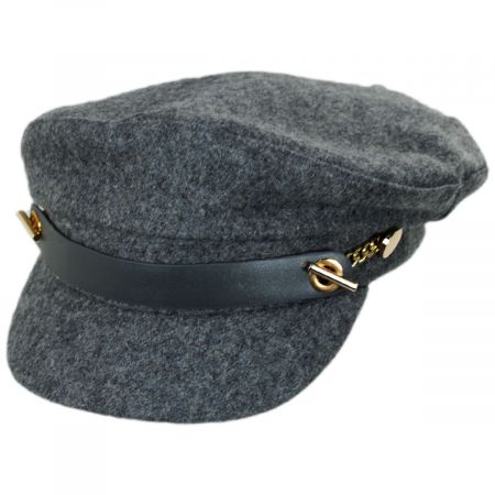 Scala Camini Wool Blend Fiddler's Cap