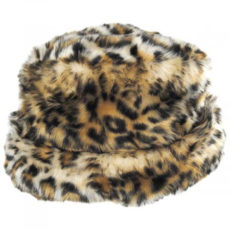 Scala Tanya Faux Fur Cloche Hat