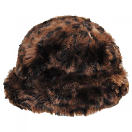 Tanya Faux Fur Cloche Hat