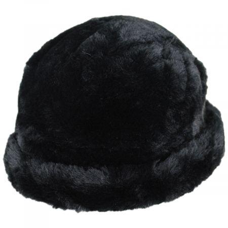 Tanya Faux Fur Cloche Hat alternate view 9