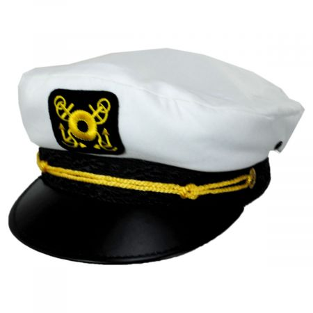 Dorfman Pacific Company Skipper Cotton Yacht Cap