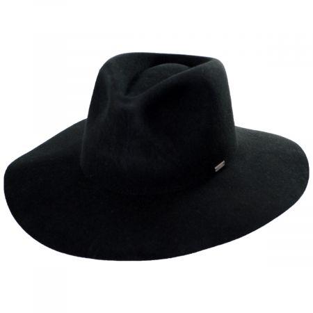 Brixton Hats Maya Wool Felt Fedora Hat