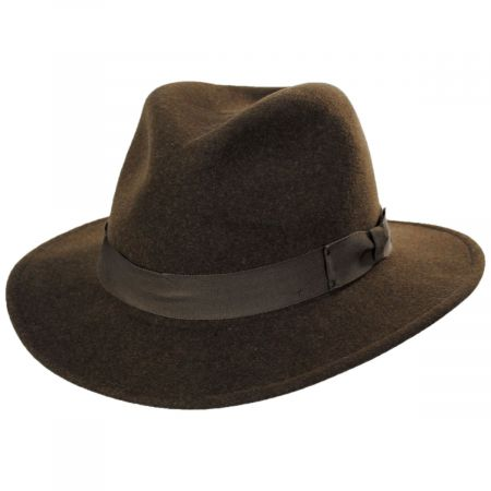 Curtis Wool Felt Safari Fedora Hat alternate view 58