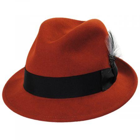 Tino Wool Felt Trilby Fedora Hat alternate view 24