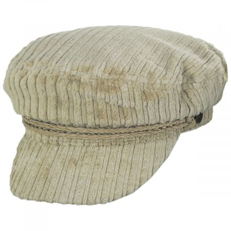 Brixton Hats Ashland Cotton Corduroy Fiddler's Cap