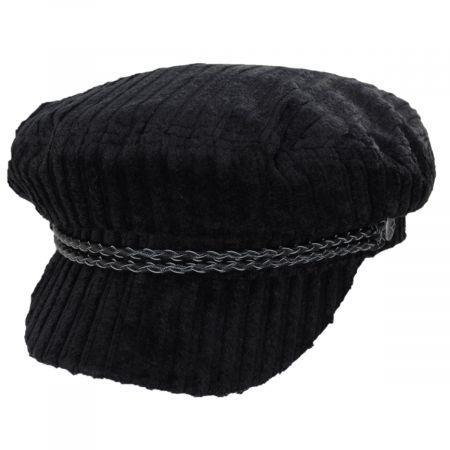 Brixton Hats Ashland Cotton Corduroy Fiddler's Cap