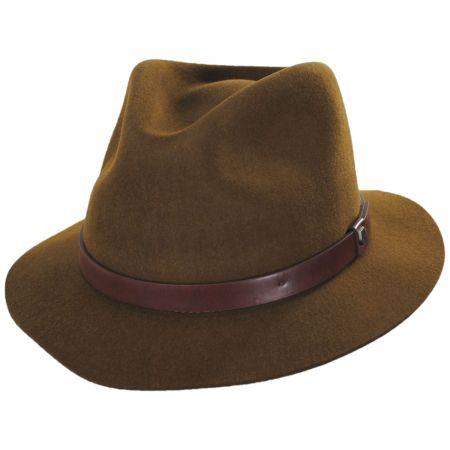 Messer Stingy Brim Wool Felt Fedora Hat alternate view 21