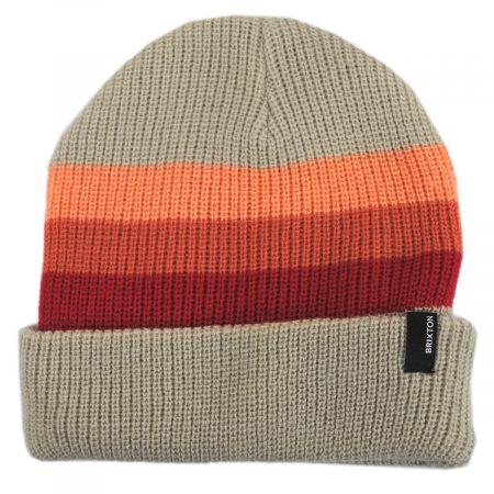 Brixton Hats Heist Stripe Beanie Hat