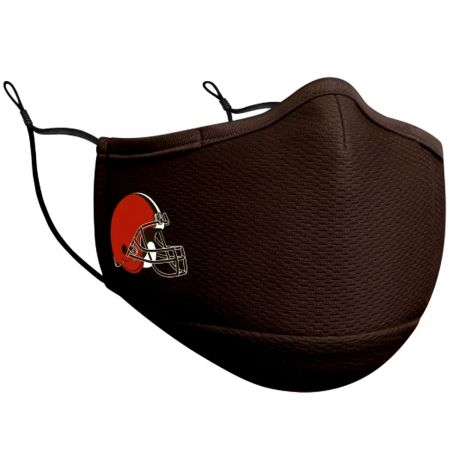 New Era Browns Team Color Face Cover and Filter
